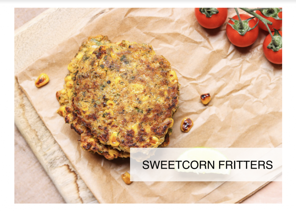 Abfab fit - Quick Sweetcorn Fritters