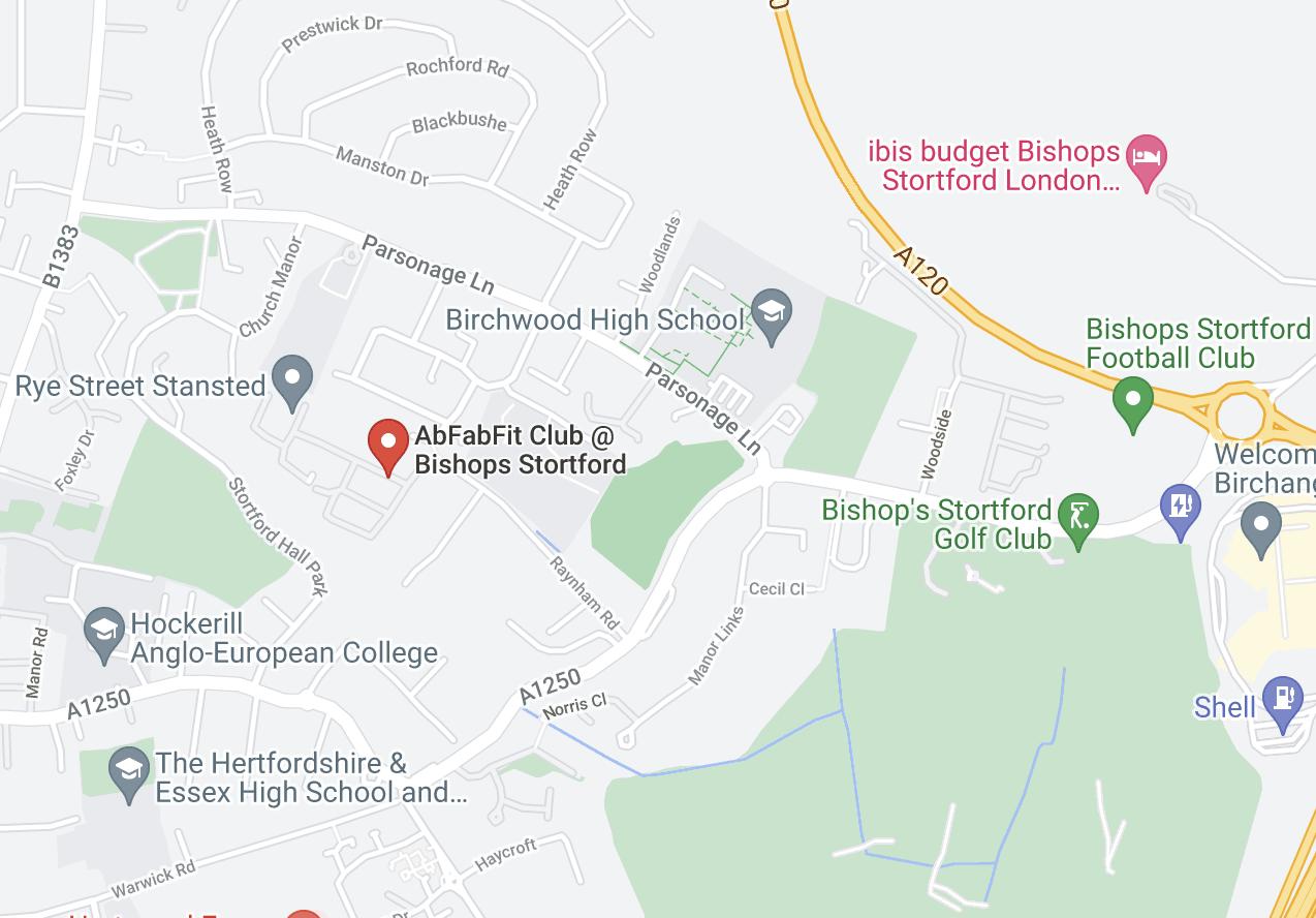 AbFabFit Club Gym Bishops Stortford